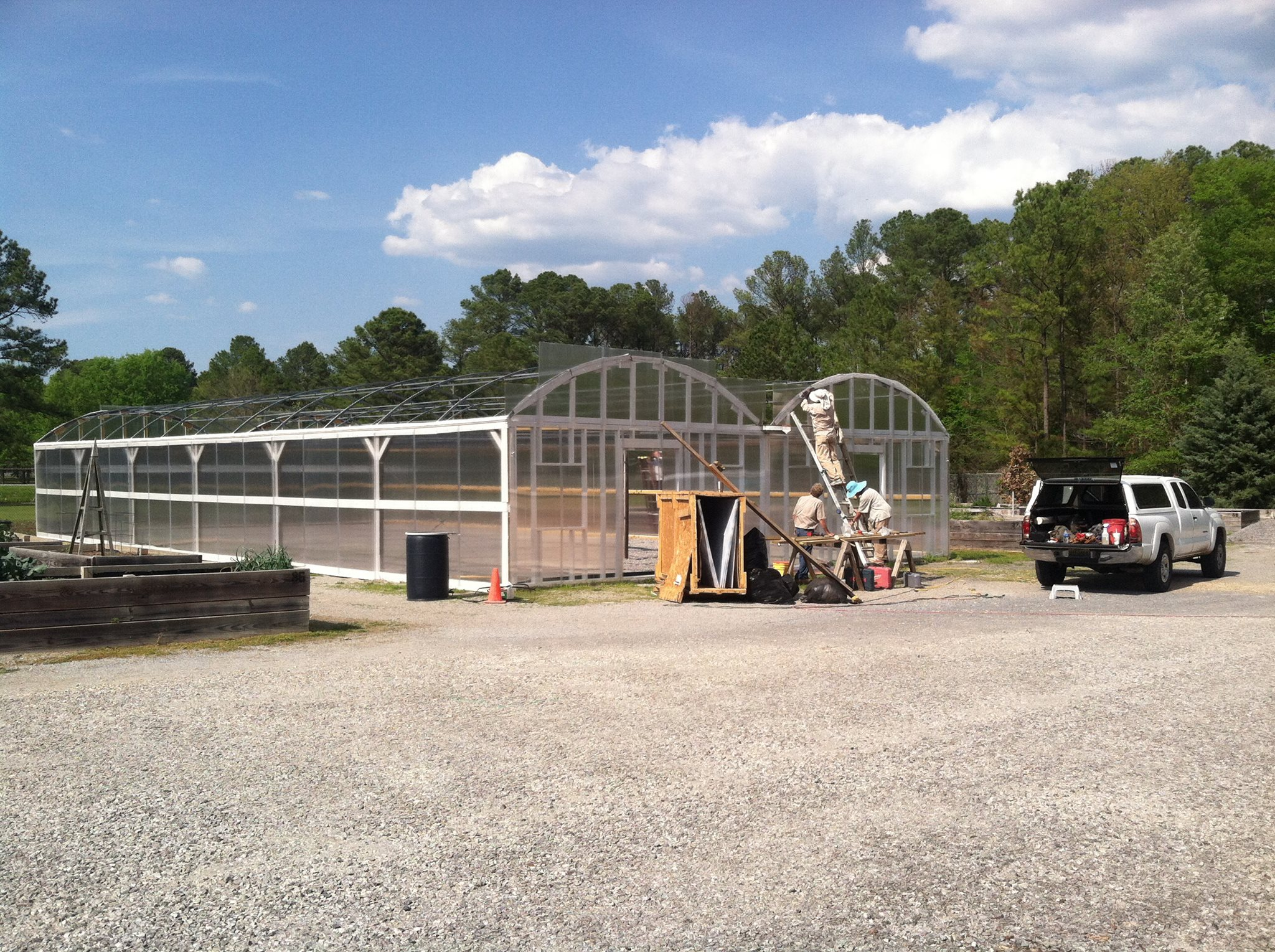 Sherron Pritchett Memorial Greenhouse Project