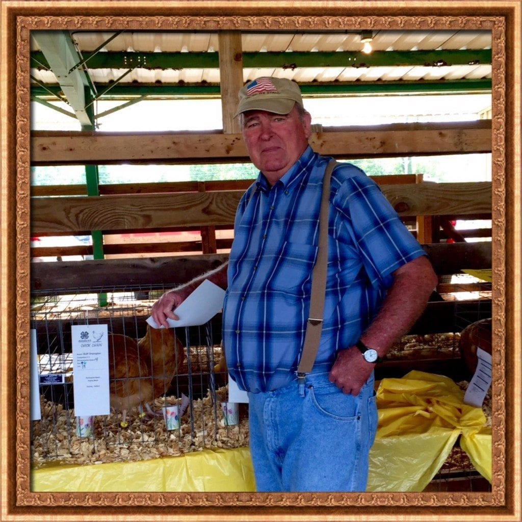 Jerry at chicken show