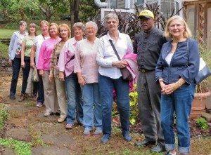 UA arboretum tour