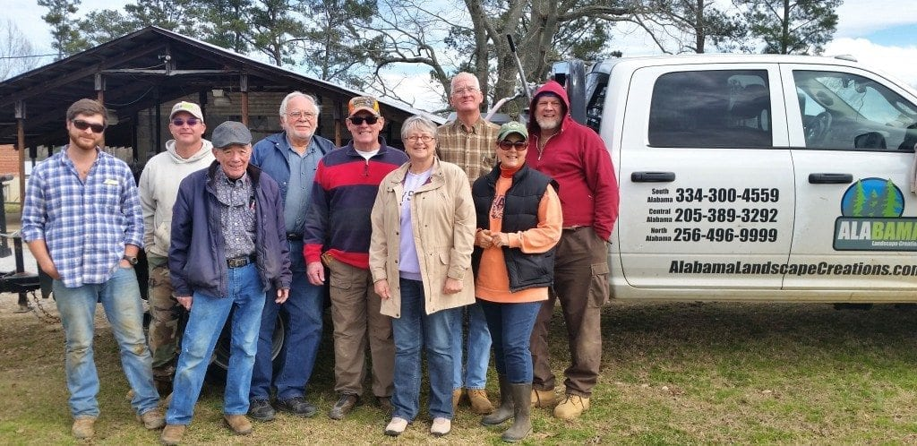 Alabama Landscape Creations donates irrigation