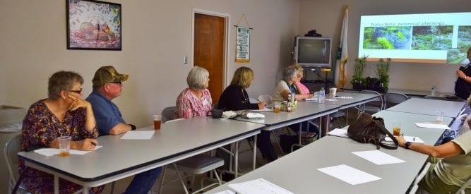 group at Native perennials class
