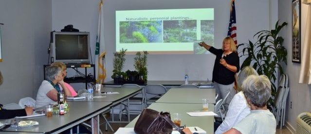 Sue Webb presented program on Native plants