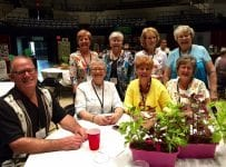 8 Master Gardeners posed at AMGA conference