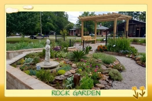 Rock Garden in Demo Garden
