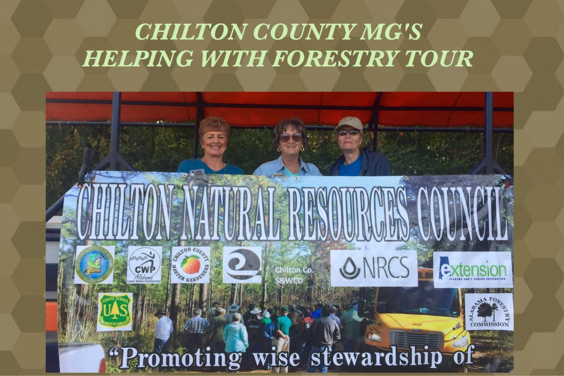Members Help With Fall Forestry Tour