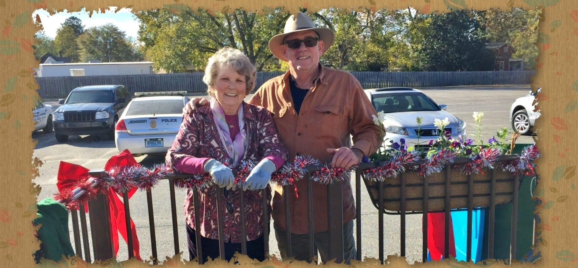 Planting Jemison City Hall
