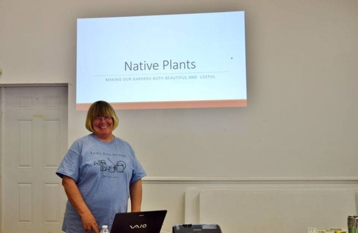 Sue Webb teaches Native Plants