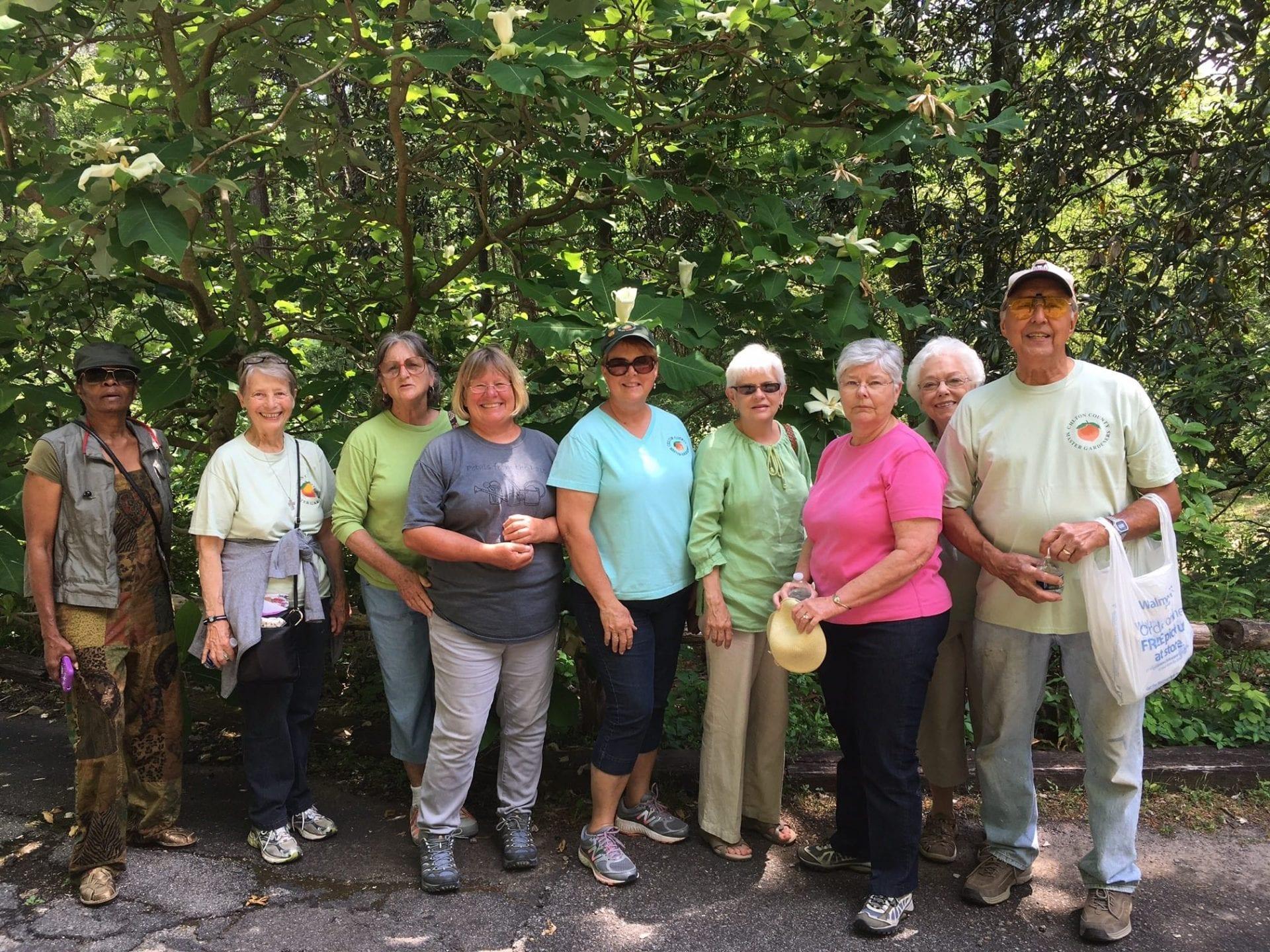 Master Gardeners tour wildflower gardens