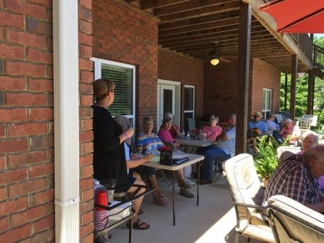 Master Gardeners attend plant swap