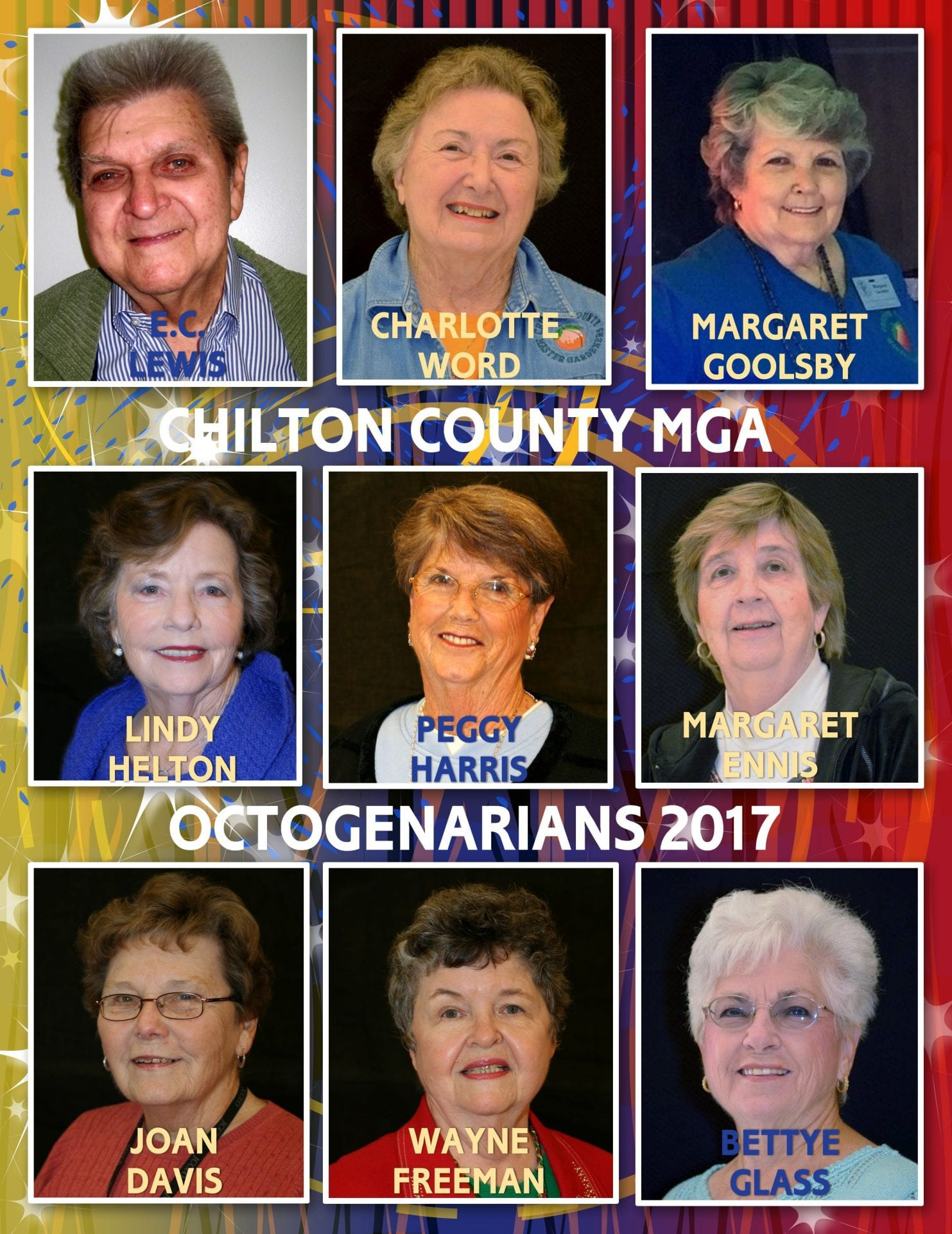 Members at least 80 years old