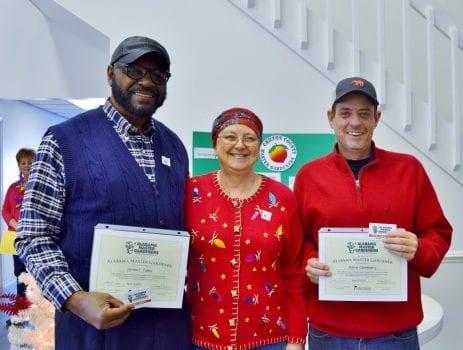 Interns receive certificates