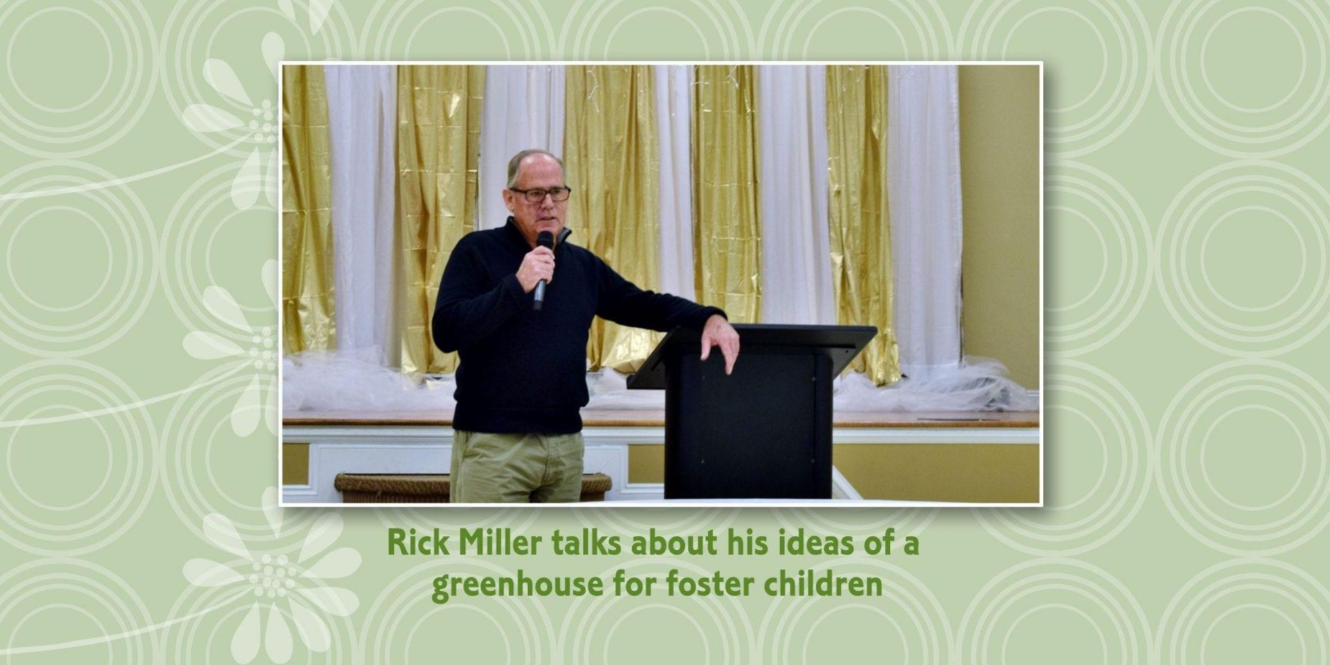 Rick Miller talking