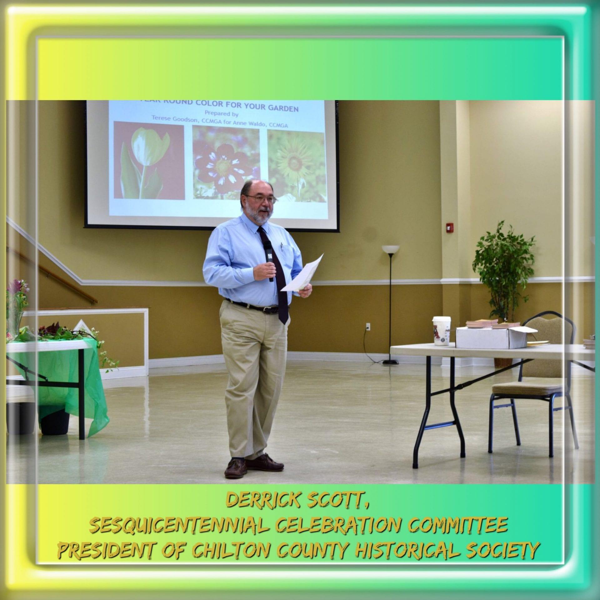 Speaker Derrick Scott