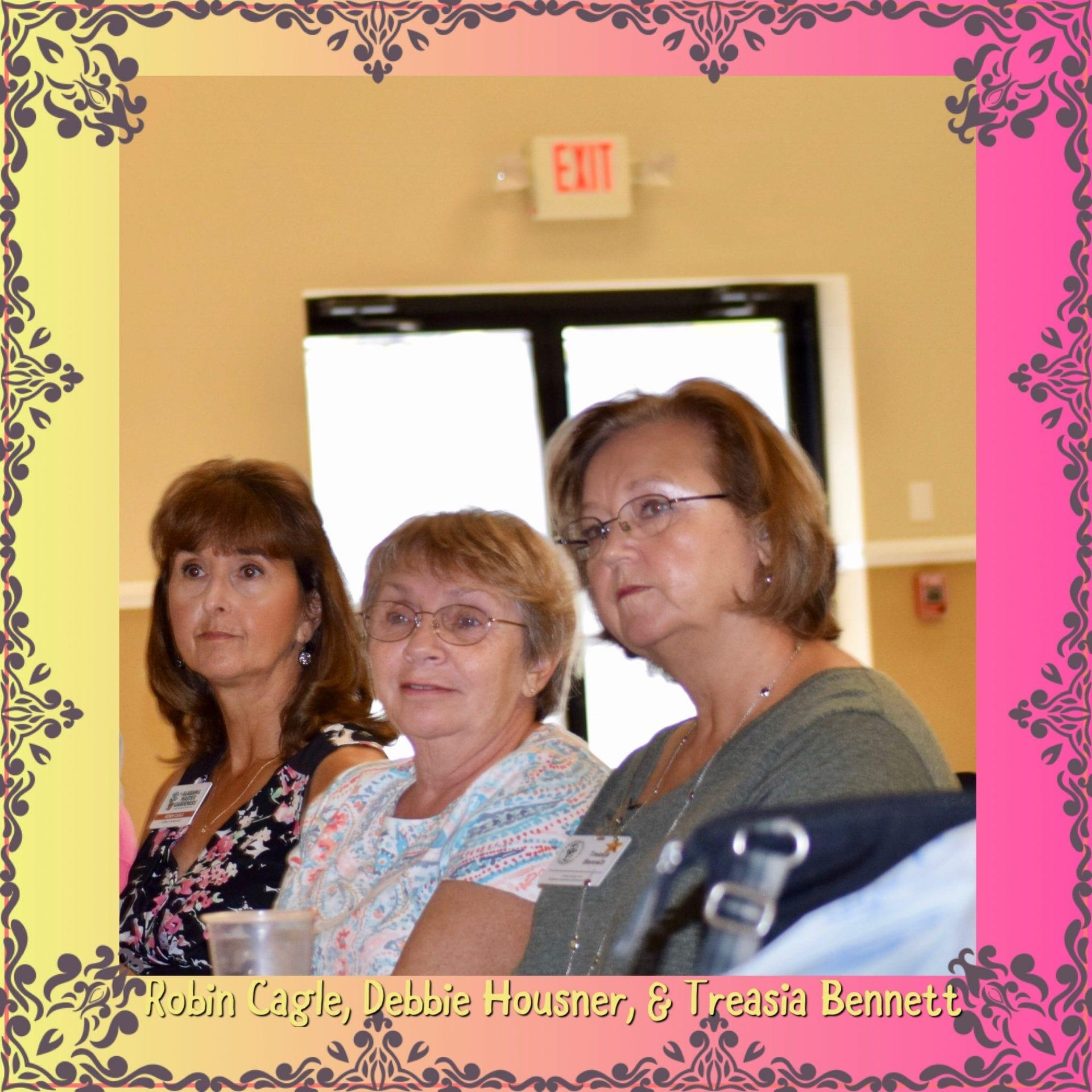 Members at September meeting