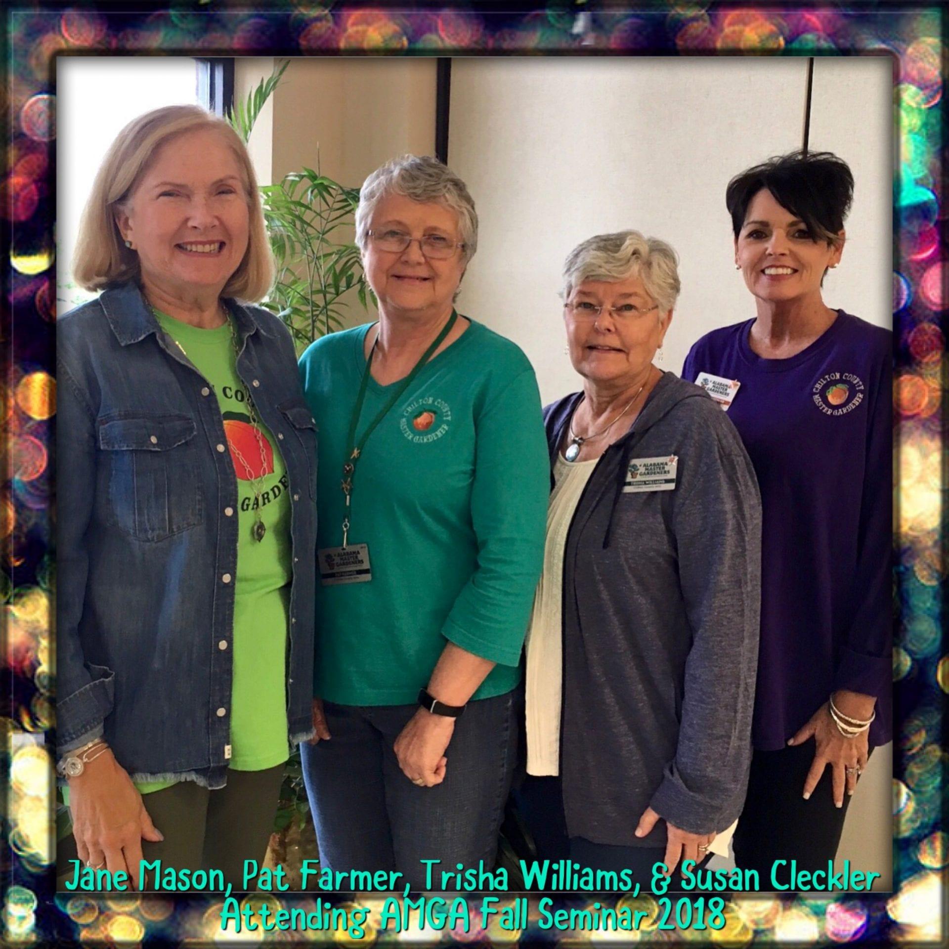Members at Fall Seminar