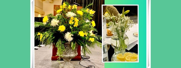 Flowers for the Chamber Banquet
