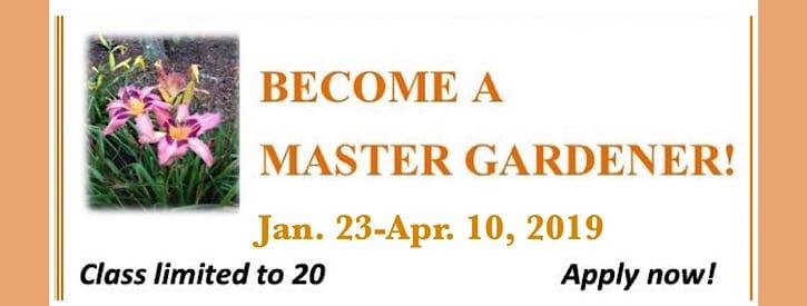 Master Gardener Classes