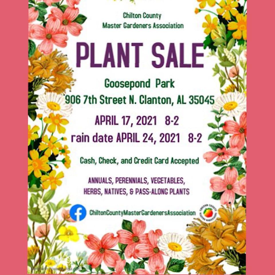 Plant sale 2021 flyer