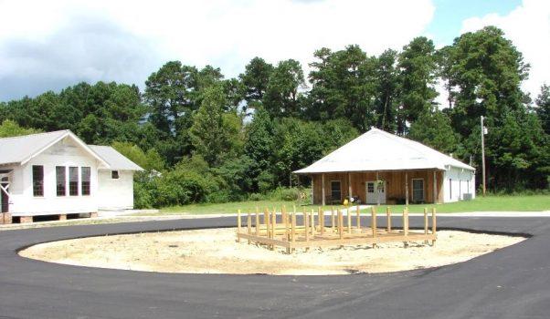 Before Image of Rain Garden Project Taken in August 2013
