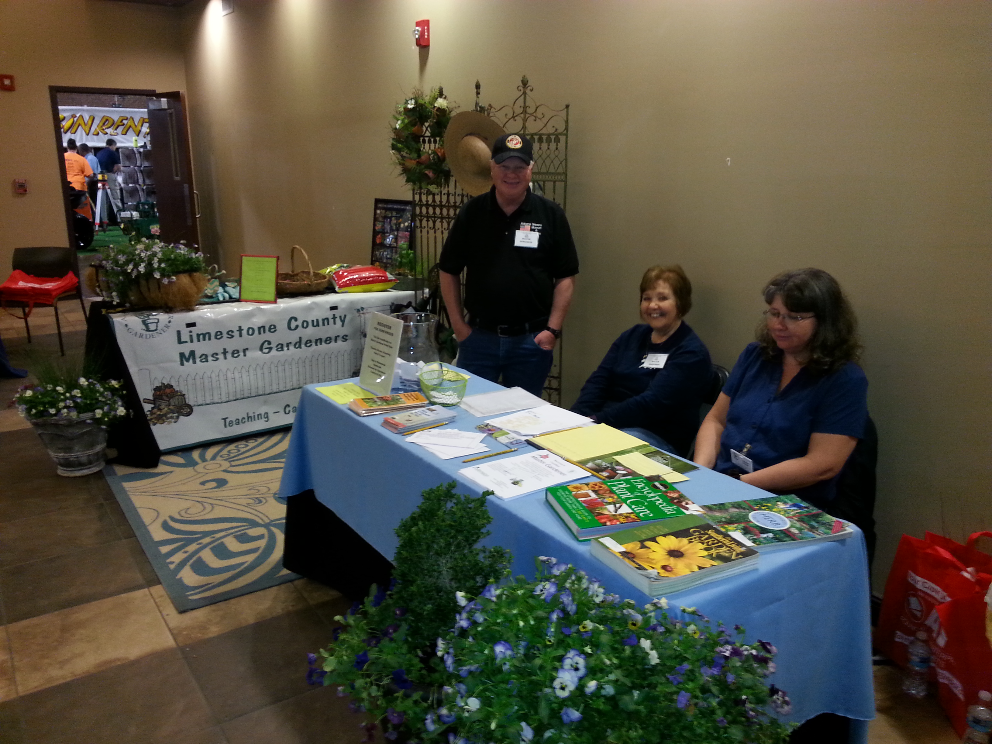 ask a master gardener master gardeners at 2016 athens limestone home and garden show - Limestone Home 2016