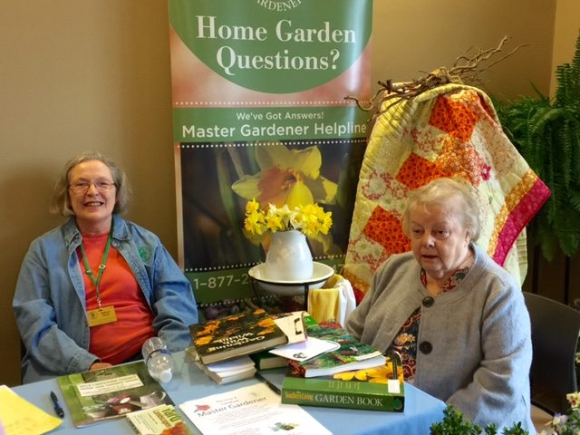 master gardeners at 2016 athens limestone home and garden show - Limestone Home 2016