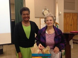 President Octavia Miles and 2015 TCMG of the Year Sybil Phillips