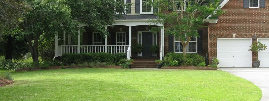 Landscape Design - nice lawn2 - Charleston subdiv 029