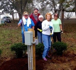 demo garden volunteers