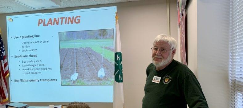 Teaching Vegetable Gardening