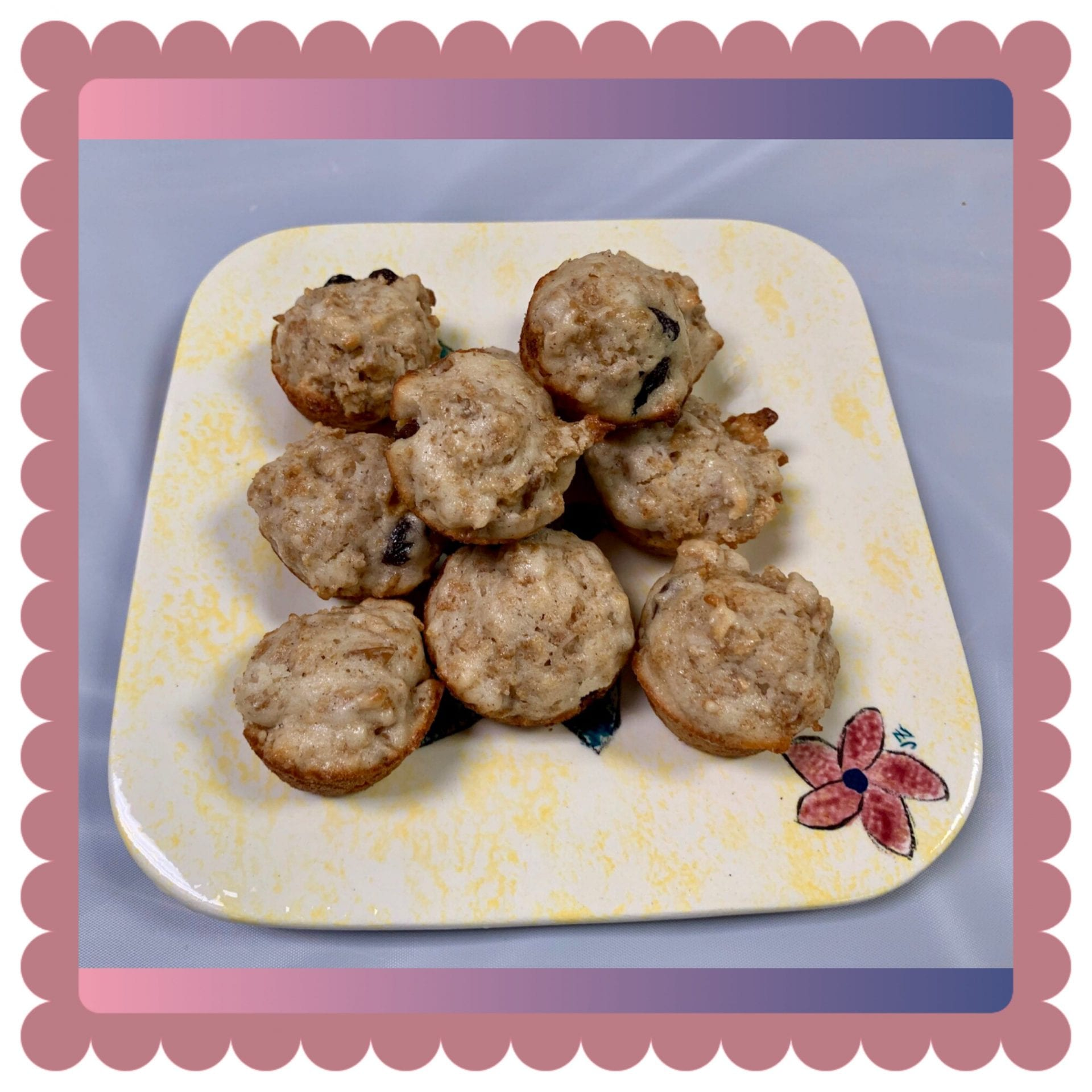 Linda's Raisin Bran muffins