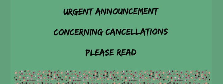 Urgent Announcement