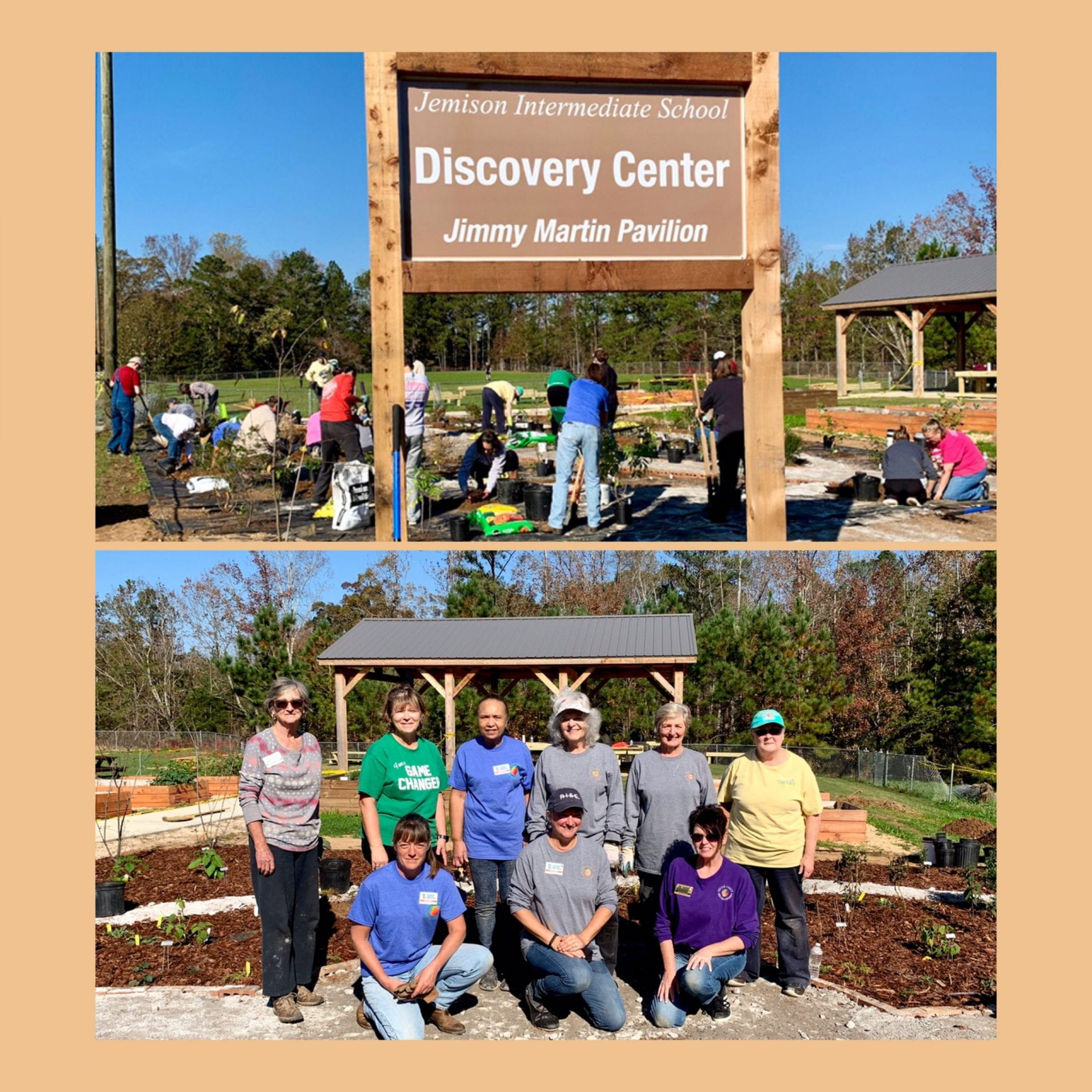 Volunteers at Jemison Discovery Center