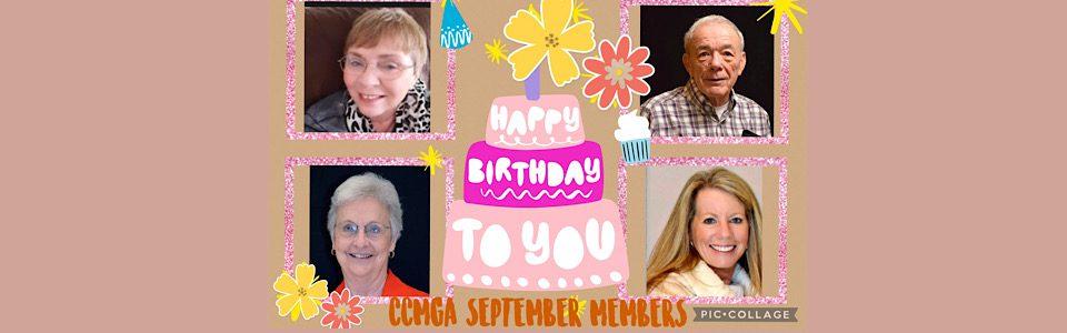 Happy Birthday September Members
